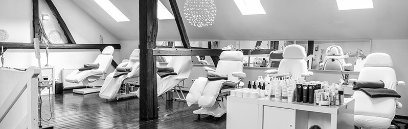 Behandlungsraum Kosmetikschule Kassel